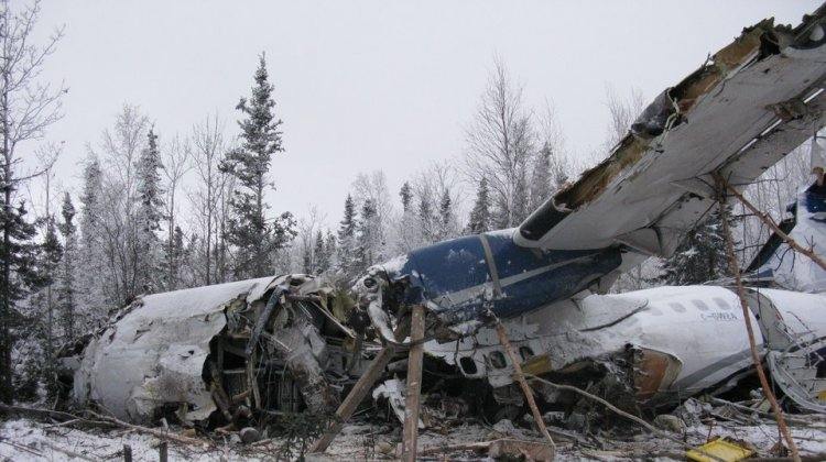 A West Wind Aviation flight with 25 people on board went down on Dec. 13 shortly after taking off from the Fond du Lac airstrip. Everyone survived, but seven people were seriously injured.